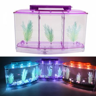 3Compartment-Acrylic-Fish-Tank-Small-Aquarium-with-LED-Light