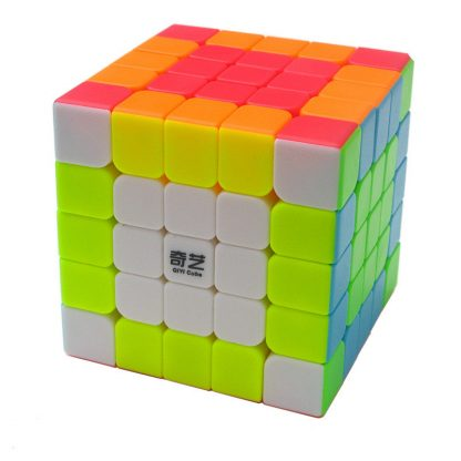 QiYi QiZheng S 5x5 Neo Rubik Smooth Magic Cube Toys Puzzle Educational Toys For Beginners - 62MM